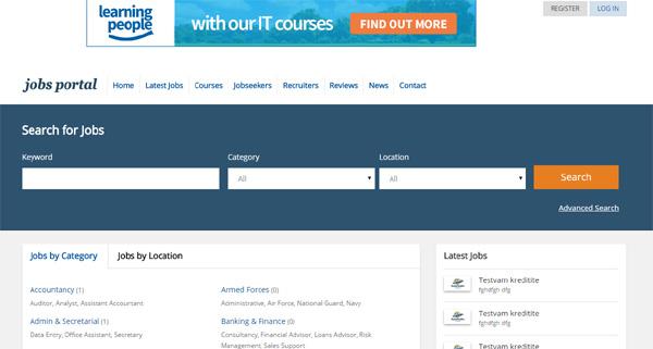 job portal qatar  job site software  employee website  job