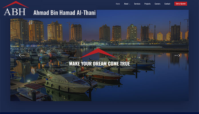 Webdesign in Qatar
